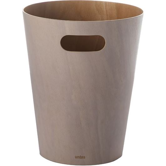 Picture of WOODROW waste can white
