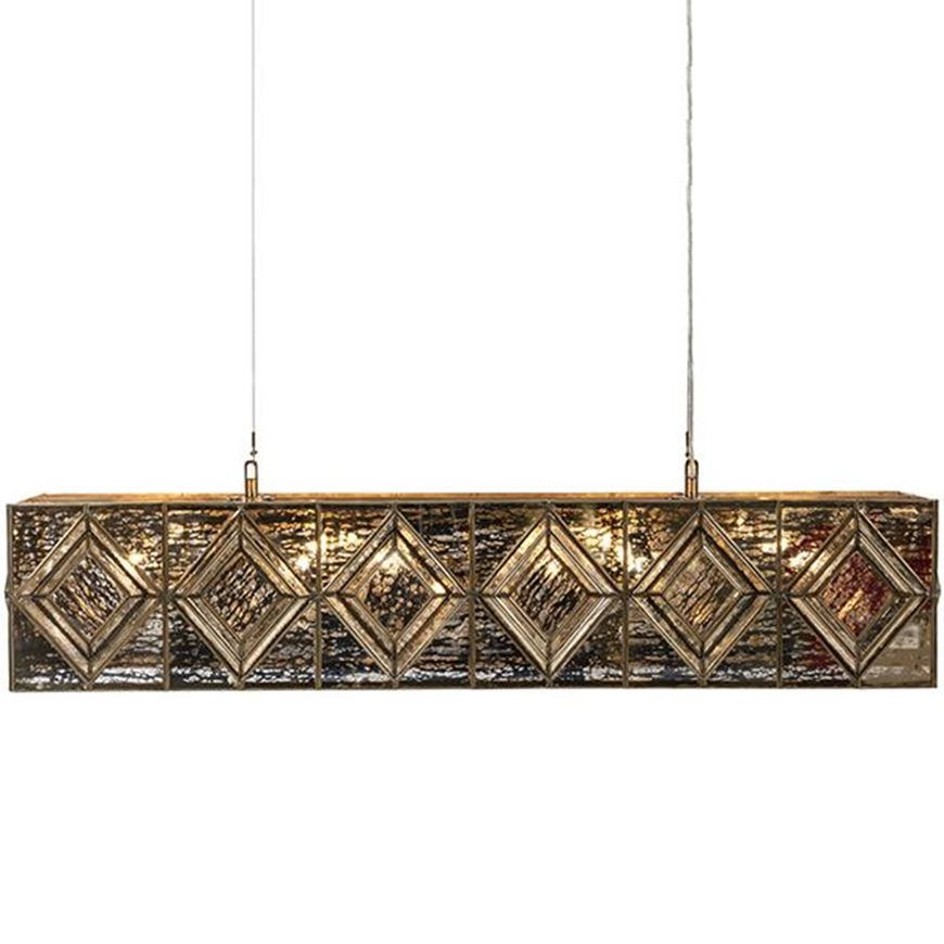 Picture of TRUSS pendant lamp 125x25 brass