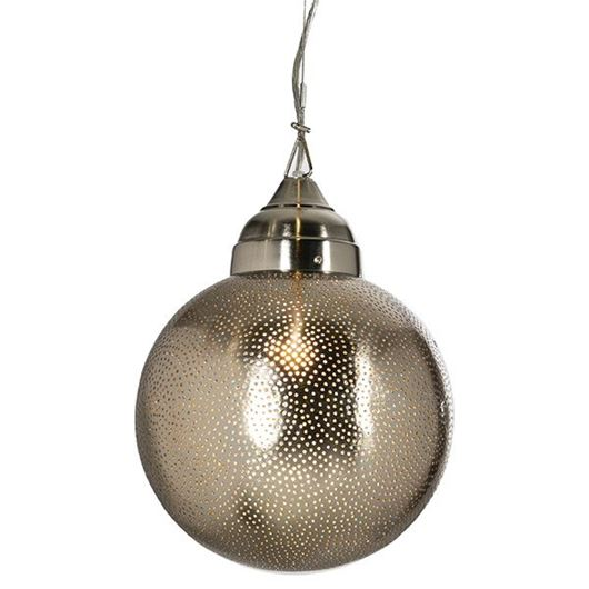 Picture of MILLY pendant lamp d25cm nickel