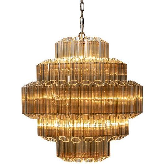Picture of SUAL chandelier d66cm gold