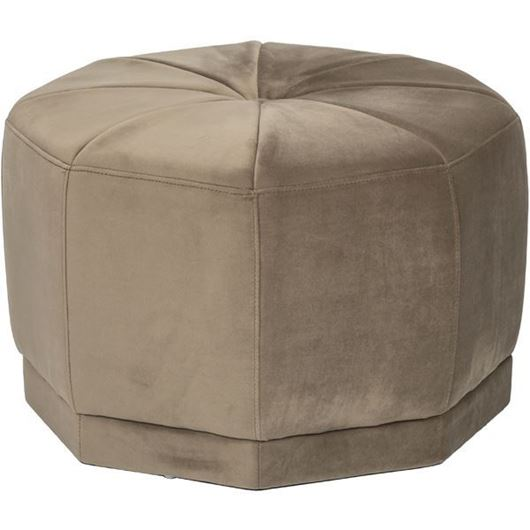 Picture of MODI stool d60cm beige