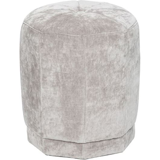 Picture of MODI stool d40cm silver