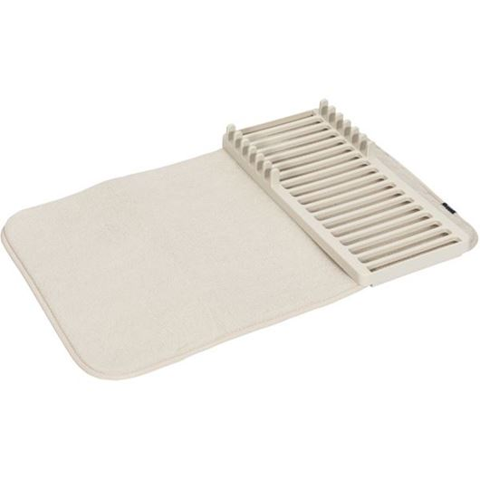 Picture of UDRY mini dish rack & drying mat natural