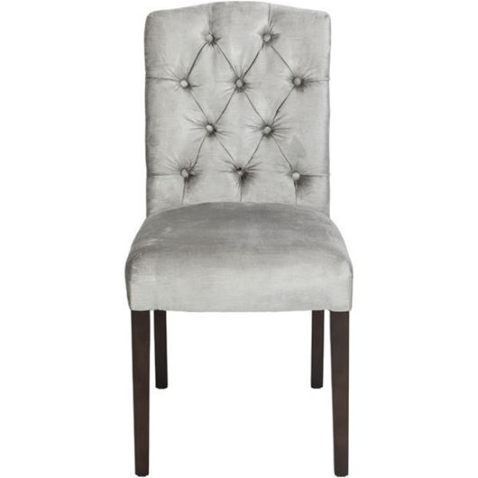 Picture of FEX dining chair silver/brown