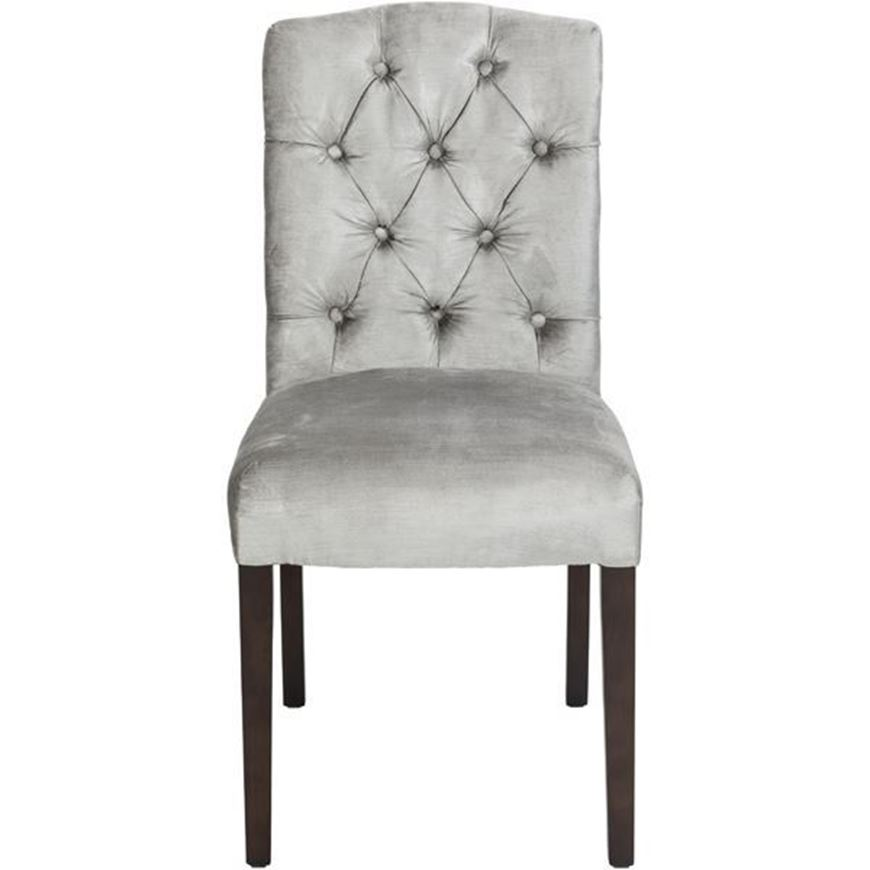 FEX dining chair silver/brown