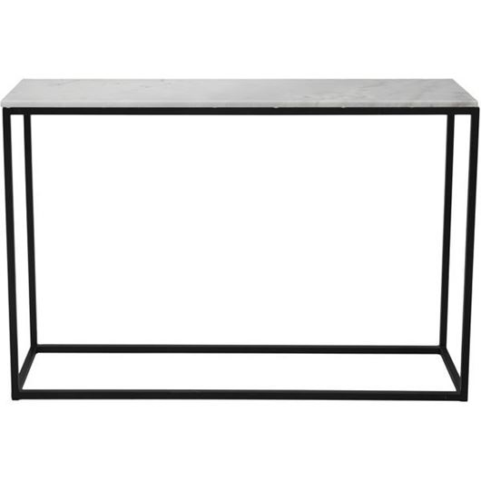 Picture of IRON console 130x36 white/black
