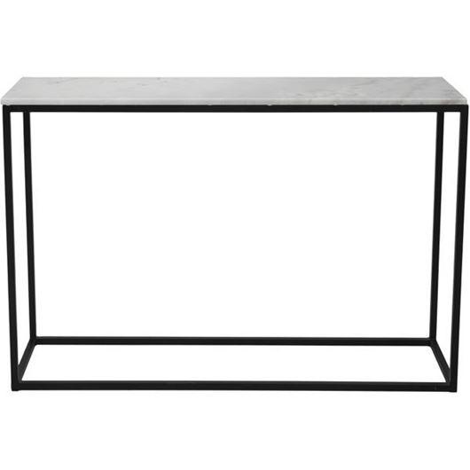 Picture of IRON console 130x36 white/black