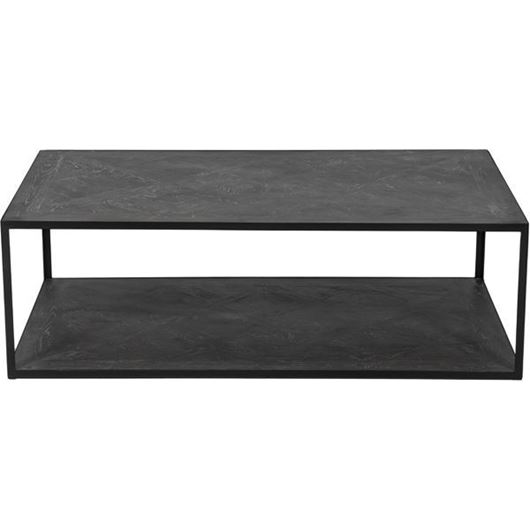 Picture of TOP coffee table 120x70 brown/black