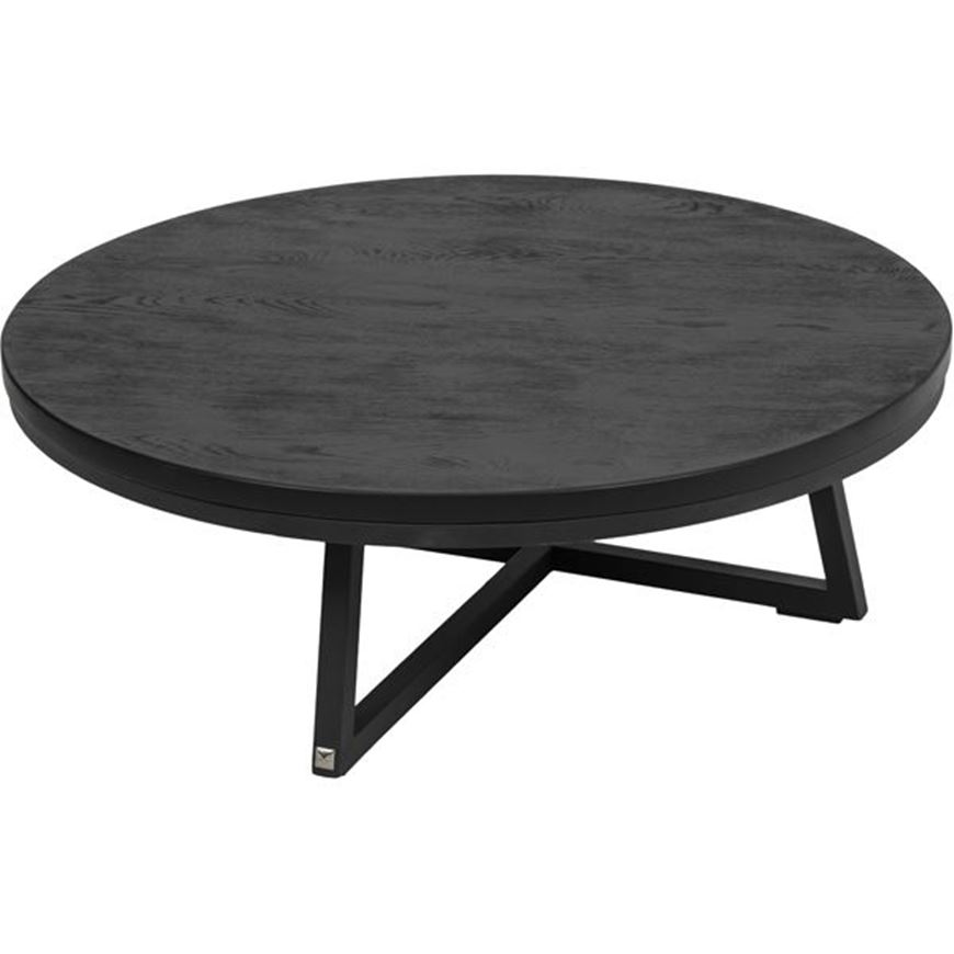 Picture of TRIAD coffee table d80cm black