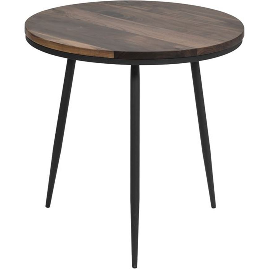 Picture of MAIN side table d60cm brown/black