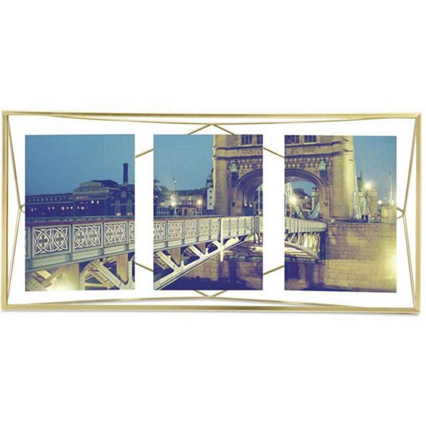 Picture of PRISMA photo frame 13x18/3 brass