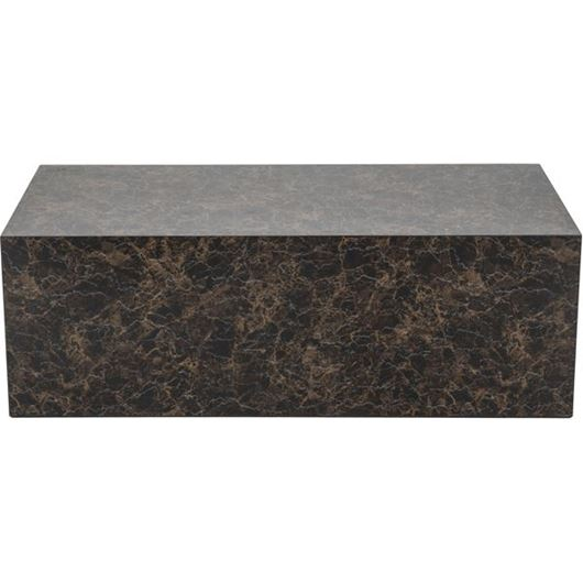 Picture of CUBY coffee table 120x60 brown