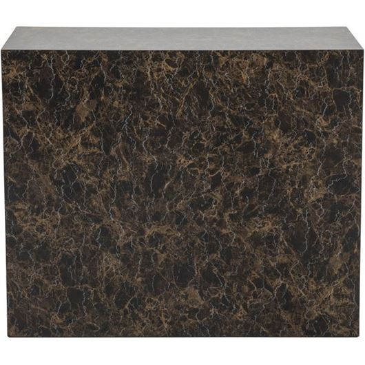 Picture of CUBY console 90x35 brown