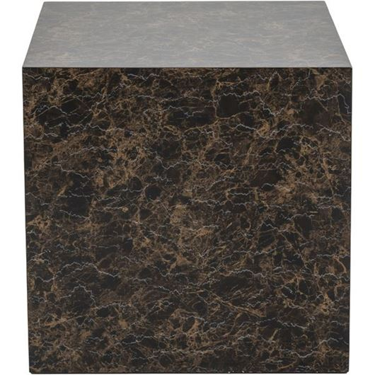 Picture of CUBY side table 60x60 brown