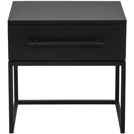 Picture of CONTE bedside table black