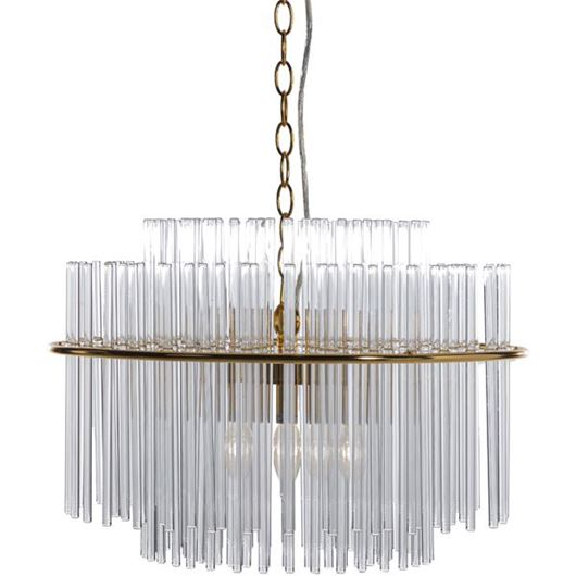 Picture of LIMCY chandelier d50cm clear/gold