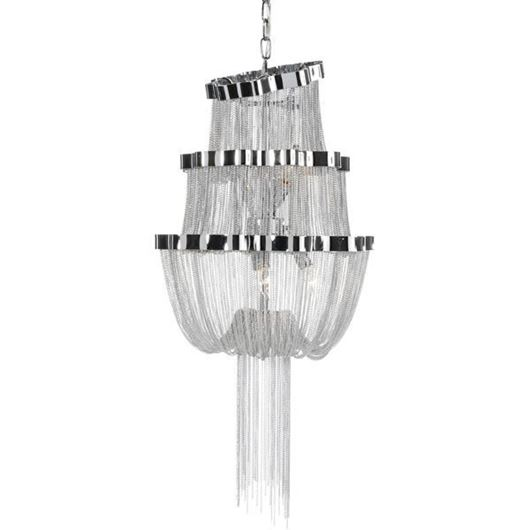 Picture of TIER chandelier d50cm silver/stainless steel
