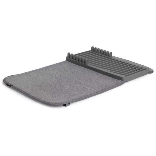 Picture of UDRY mini dish rack & drying mat dark grey
