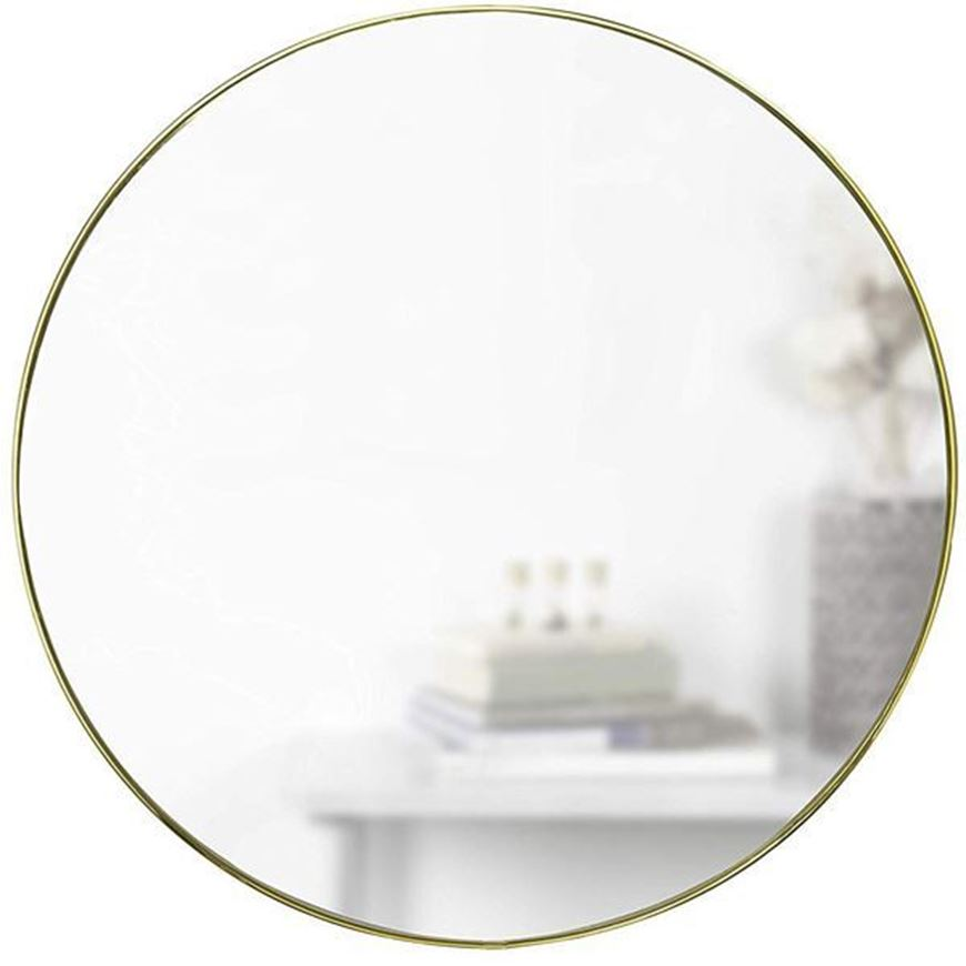 HUBBA mirror d86cm brass