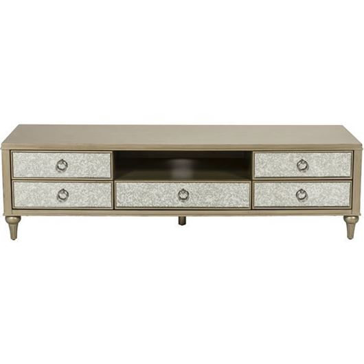 Picture of MIA entertainment unit 50x180 gold/grey