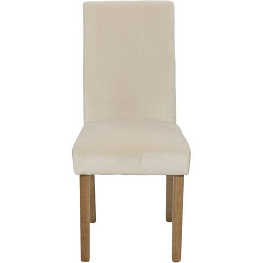 Picture of REBO dining chair taupe/natural