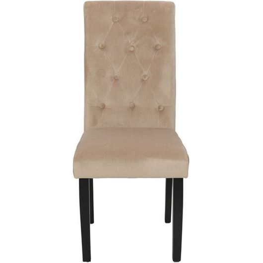 Picture of KORA dining chair beige/black