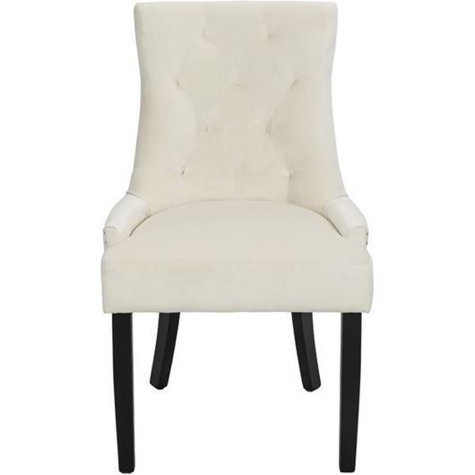 Picture of HALA dining chair white/black