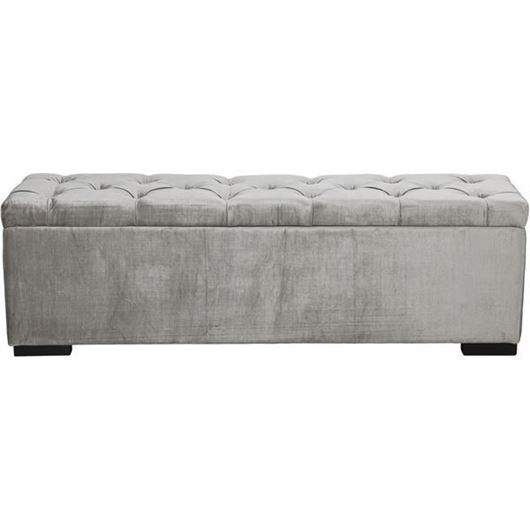 Picture of ZENN stool 160x40 grey