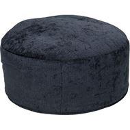 RUBY footstool d78cm blue