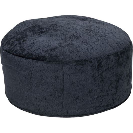 Picture of RUBY footstool d78cm blue