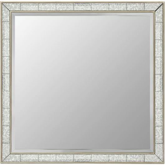 Picture of MIA mirror 100x100 gold/grey