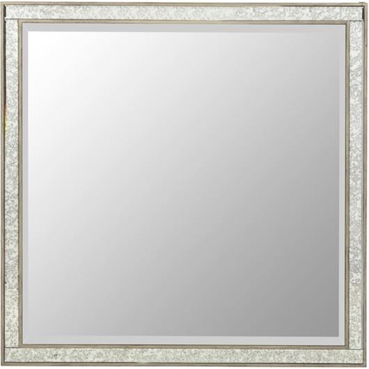 Picture of AVA mirror 100x100 grey/gold