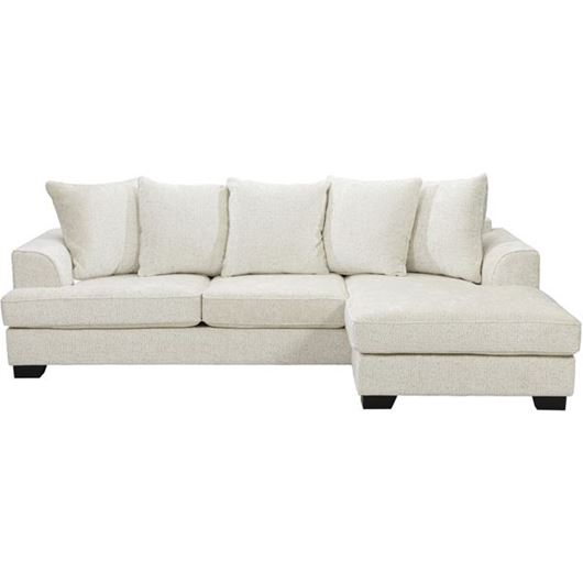 Picture of KINGSTON sofa 2.5 + chaise lounge Right cream