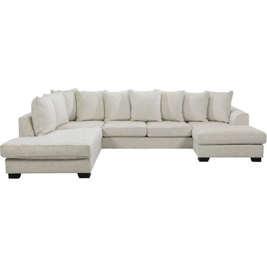 Picture of KINGSTON sofa U shape Left cream
