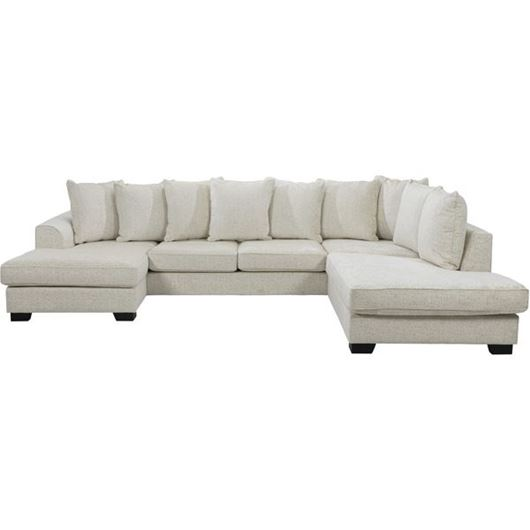 Picture of KINGSTON sofa U shape Right cream