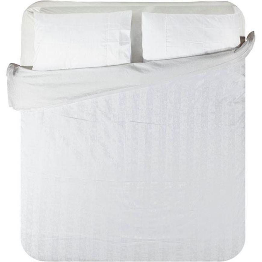 ALICIA duvet cover set of 3 white