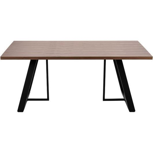Picture of STEPHANO dining table 180x90 brown/black