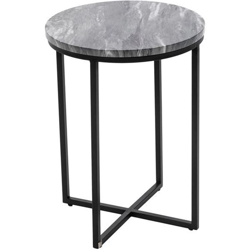 HARRIS side table d40cm black