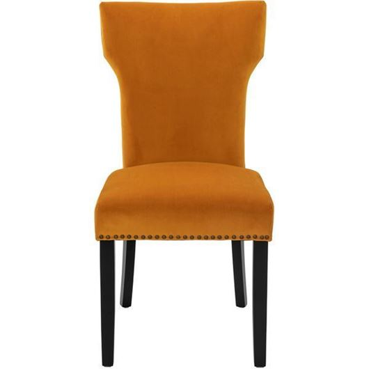 Picture of UMA dining chair yellow/black
