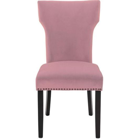 Picture of UMA dining chair purple/black