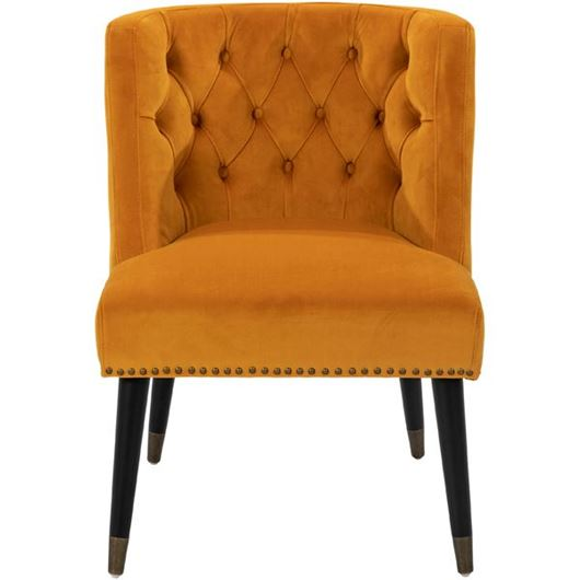 Picture of THEO armchair yellow