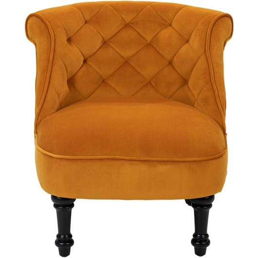 Picture of JUNO armchair yellow