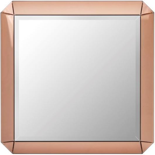 Picture of VERA mirror 80x80 pink