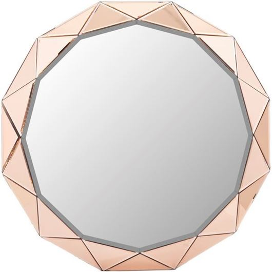 Picture of VERA mirror d90cm pink