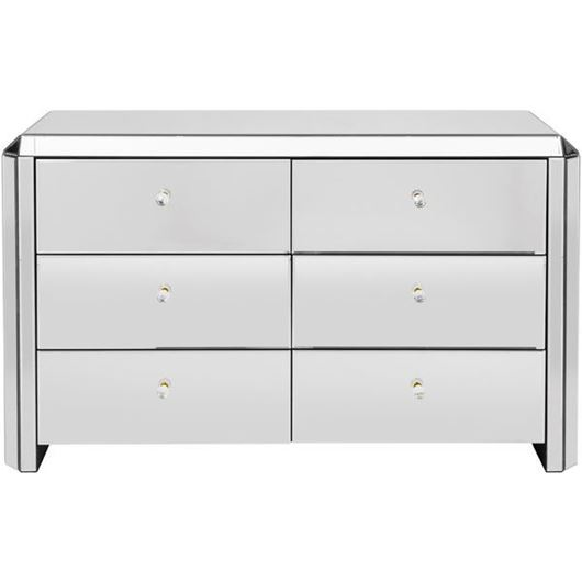 Picture of VERA chest 6 drawers clear
