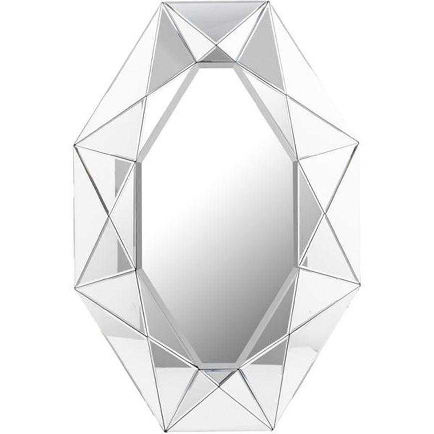 STAR 5 mirror 120x80 clear