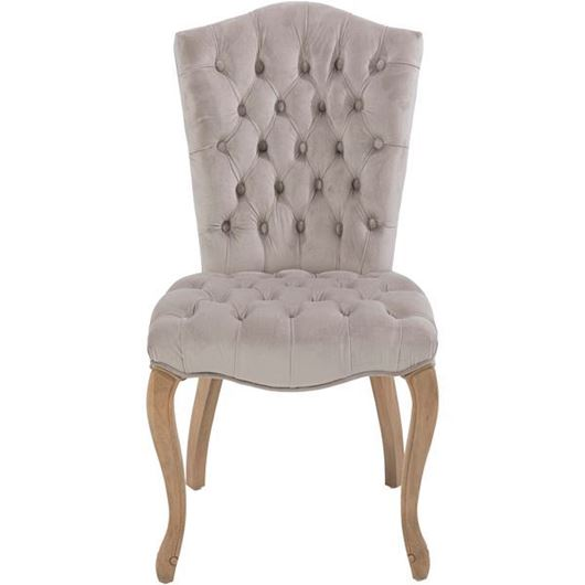 Picture of RAFEL dining chair microfibre grey/taupe