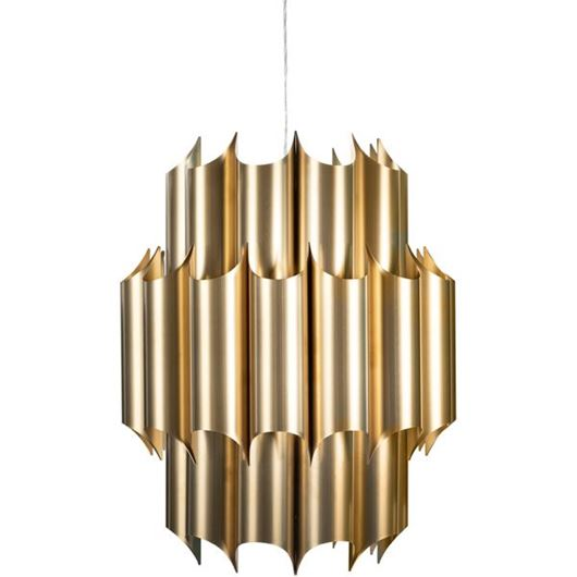 Picture of ALFO pendant lamp d60cm brass