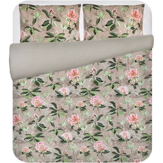 Picture of RHODODENDRON duvet cover set of 3 beige