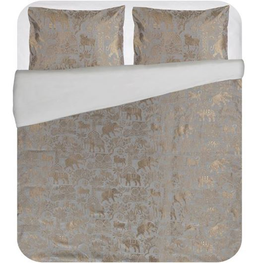 Picture of ELEPHANT duvet cover set of 3 grey
